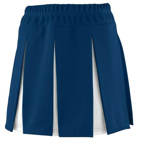 Augusta Girls Liberty Skirt Nav/Whi S - image 1 de 1