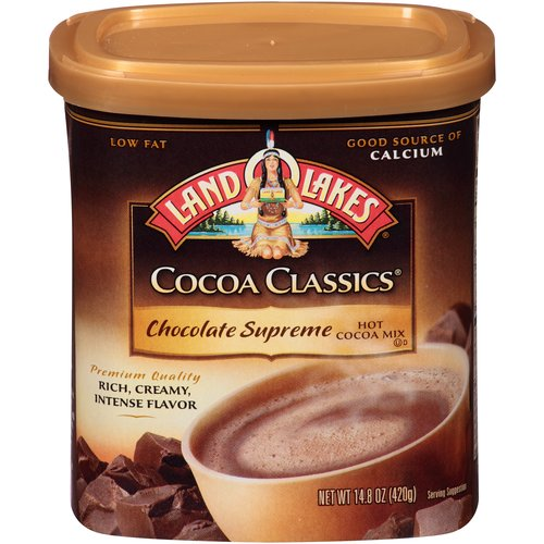 Land O'Lakes Cocoa Classics Chocolate Supreme Hot Cocoa Mix, 14.8 oz