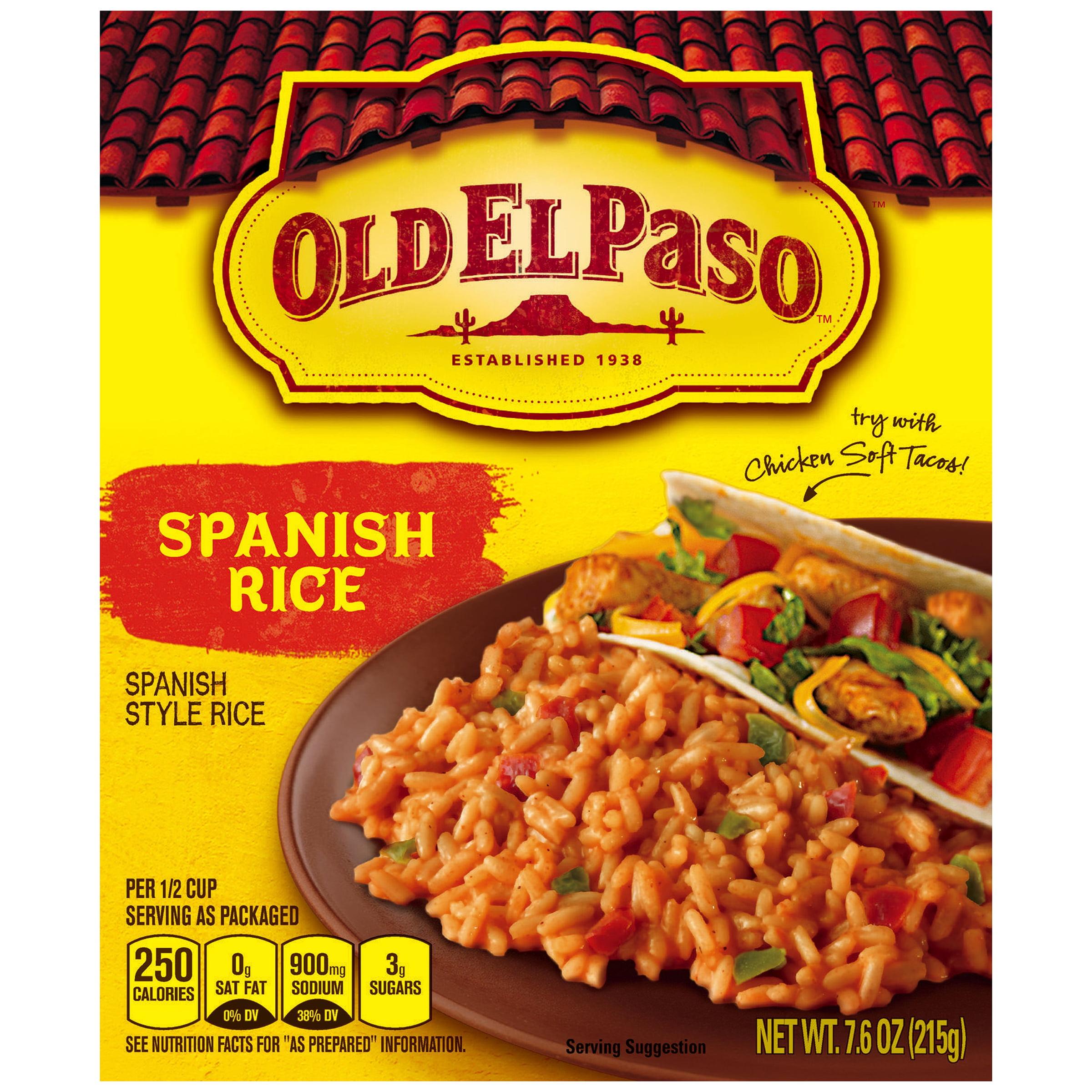 Old El Paso�� Spanish Rice 7.6 oz. Box