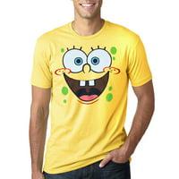 SpongeBob Face Adult T-Shirt