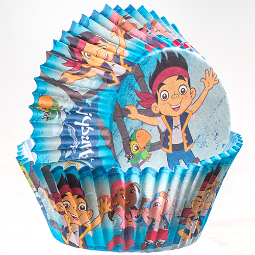 Disney Jake & the Never Land Pirates Cupcake Wrappers