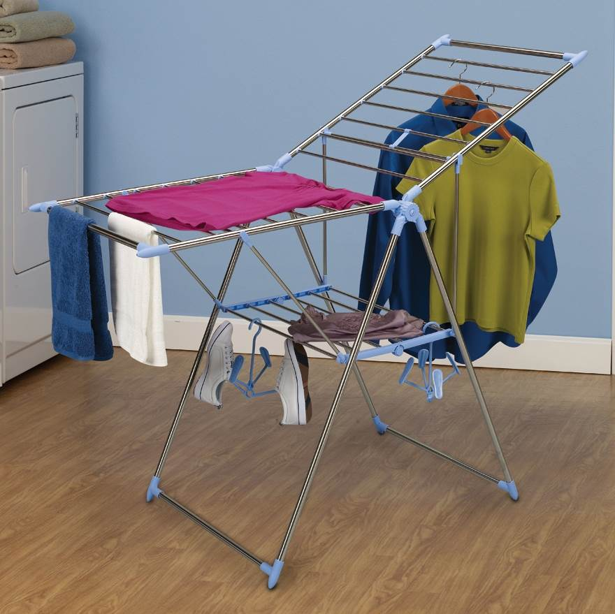 Gullwing Clothes Dryer w 2 Shoe Hangers