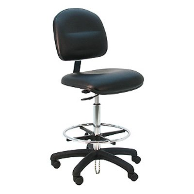 Bench Pro Deluxe Ergonomic ESD Anti Static Vinyl Wide Chair