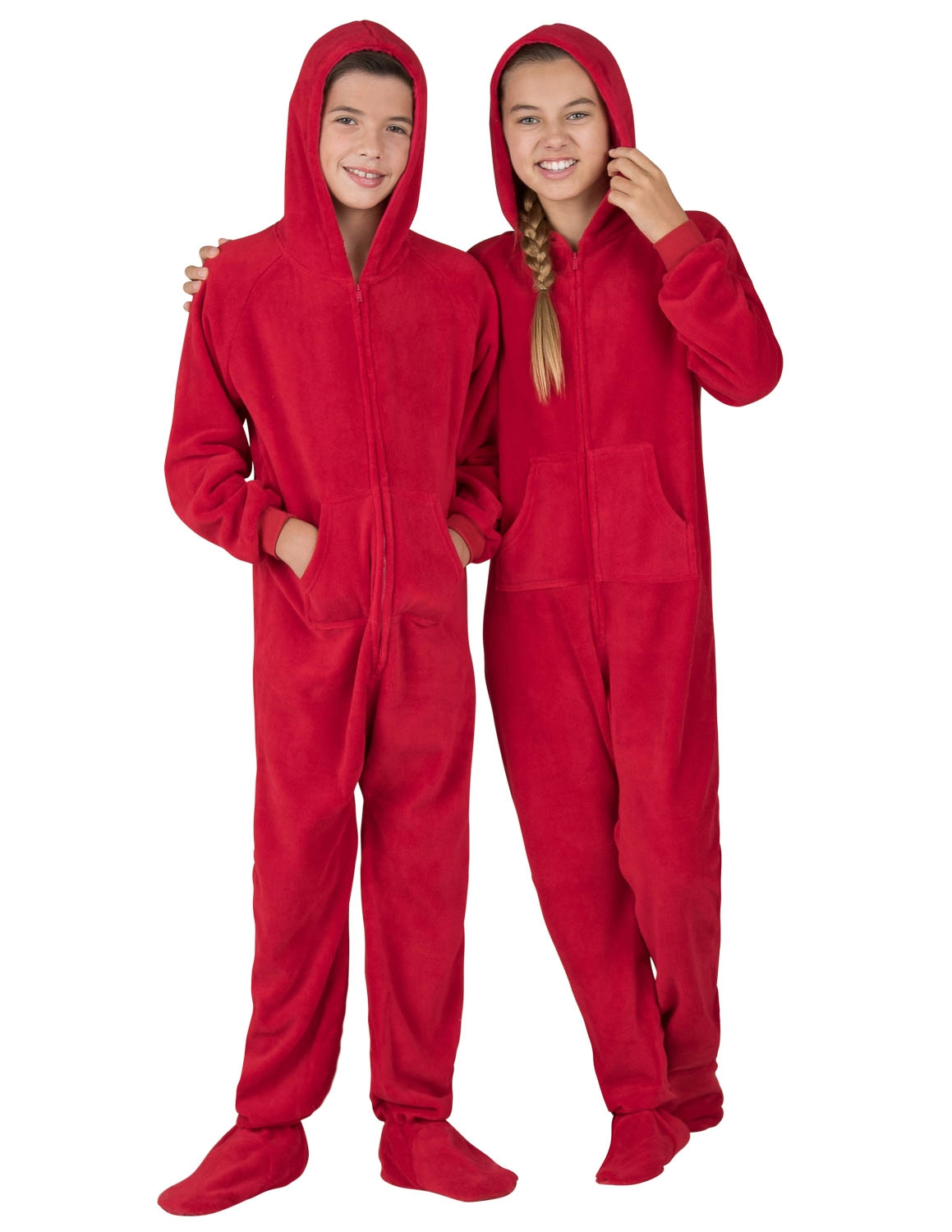Christmas Footie Pajamas For Kids.Footed Pajamas Heatwave Kids Hoodie Chenille Onesie