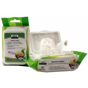 Image of 12PK OF 30OCT BAMBOO NOSE N BLOWS WIPES