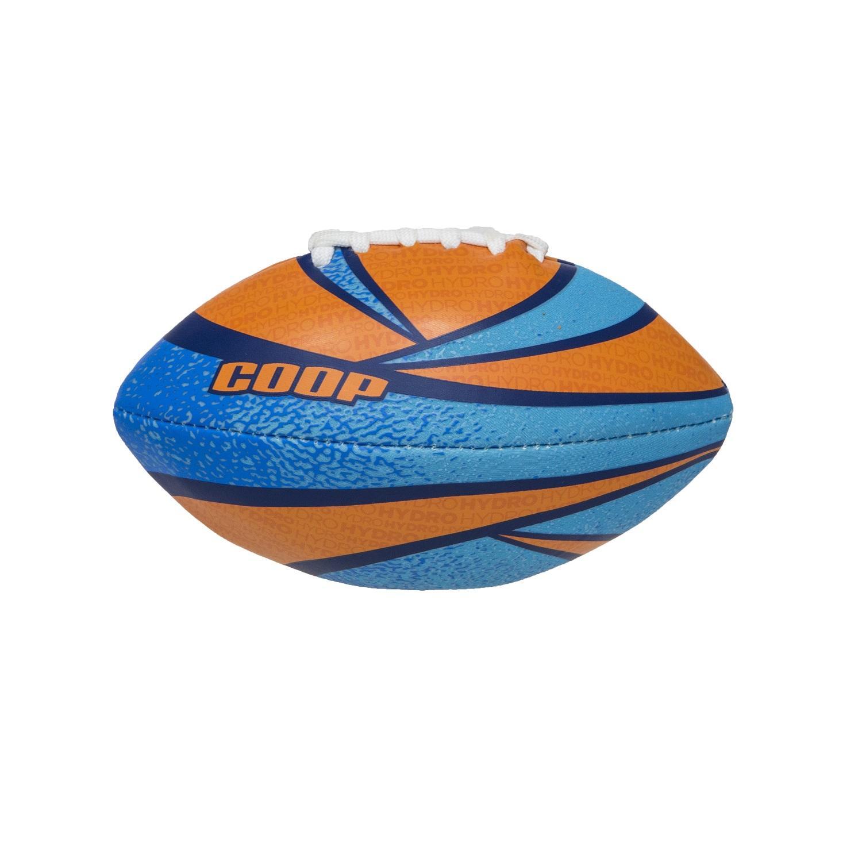 "7"" Blue and Orange High-Performance Hydro Rookie Mini Football Swimming Pool Toy"