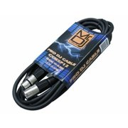 Mr. Dj USA CXMXF12 12-Feet XLR Male to XLR Female Professional Dj Speaker Cable