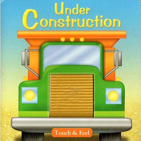 Under Construction Touch and Feel Story Book (1ct)](Halloween Touch And Feel Game With Story)