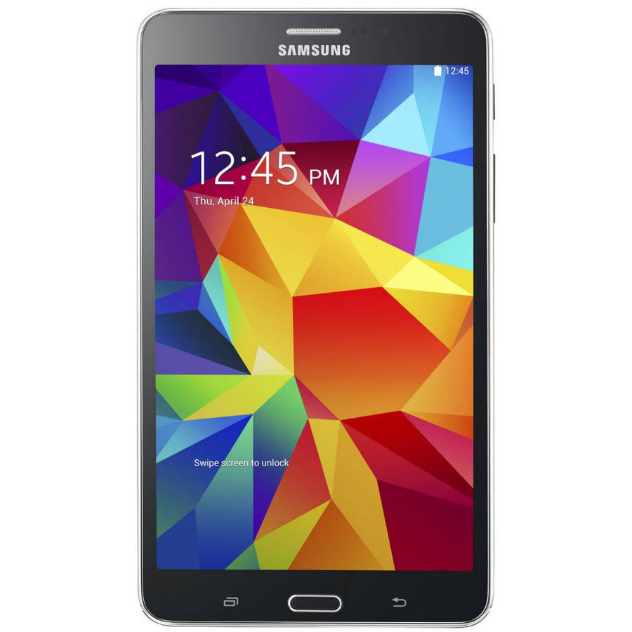 "Refurbished Samsung Galaxy Tab 4 with WiFi 7"" Tablet PC Featuring Android 4.4 (KitKat) Operating System, Black"