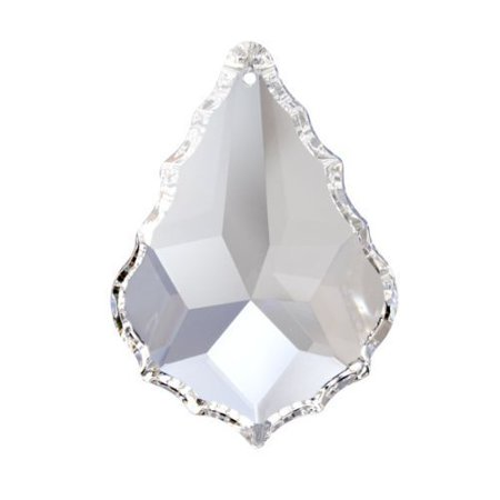 - Crystal Prism Austrian Lead Free Clear Faceted Pendeloque Prism by Swarovski Spectra (Size Available)