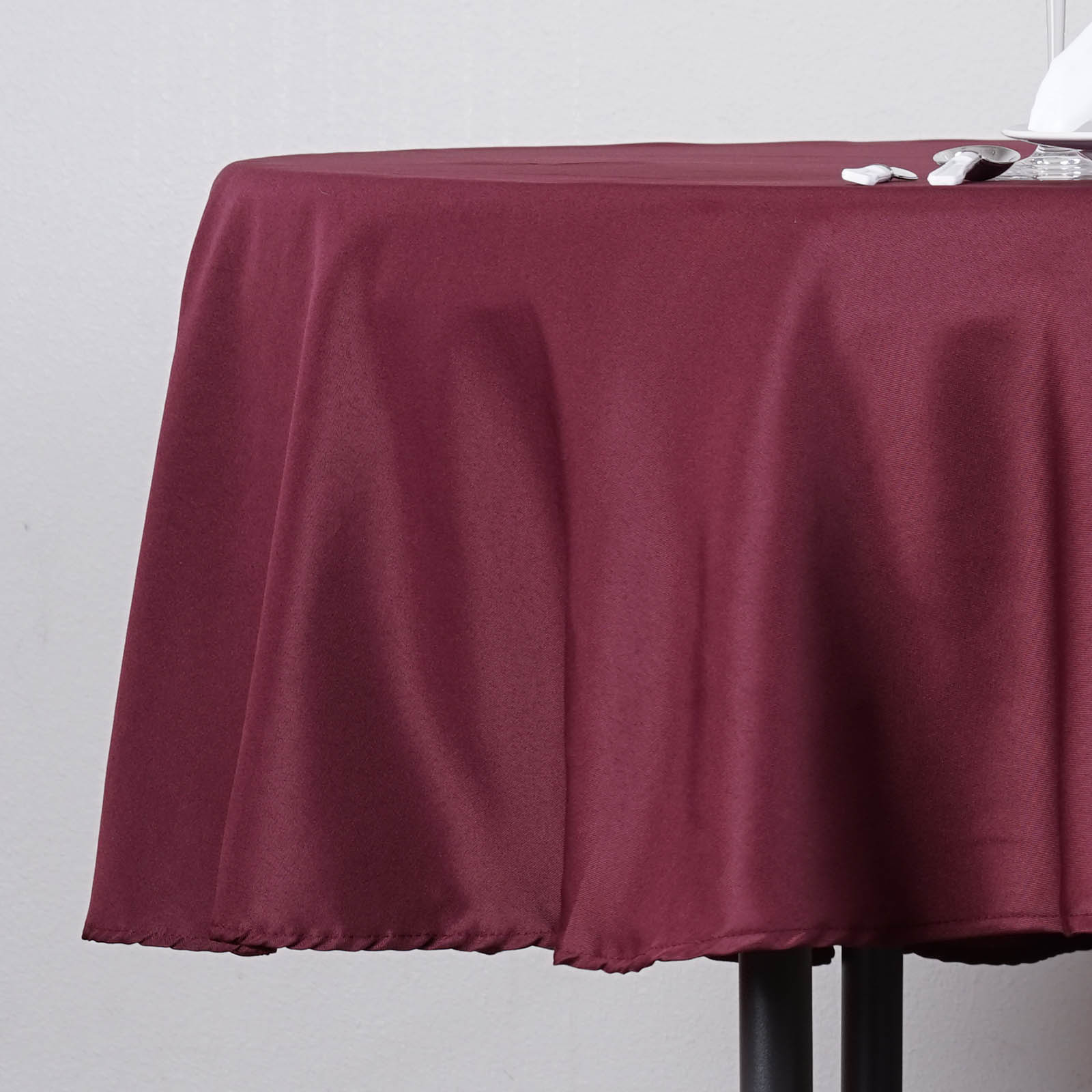 """BalsaCircle 70"""" Round Polyester Tablecloth for Party Wedding Reception Catering... by BalsaCircle"""