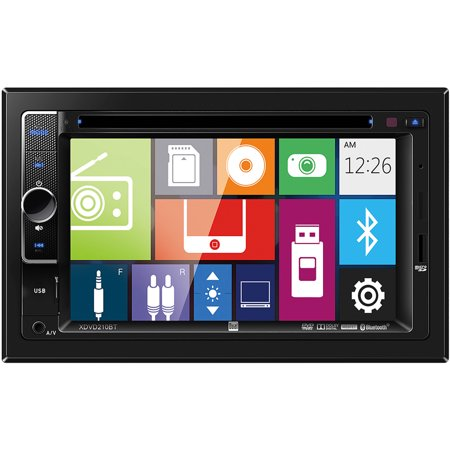 Dual Xdvd210bt 6 2  Multimedia Dvd Receiver With Bluetooth