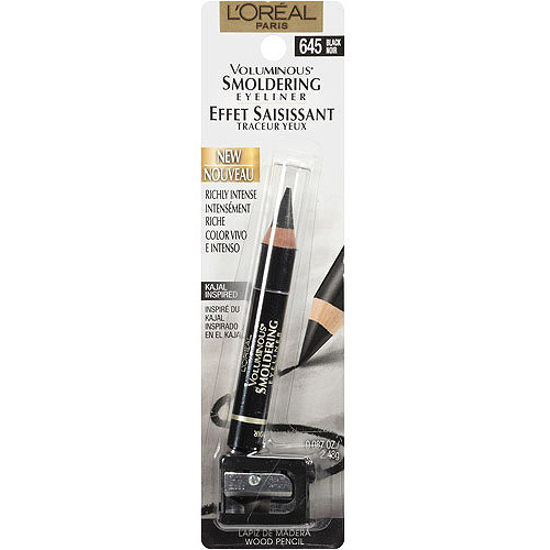 L'Oreal Paris Voluminous Smoldering Eyeliner, 645 Black