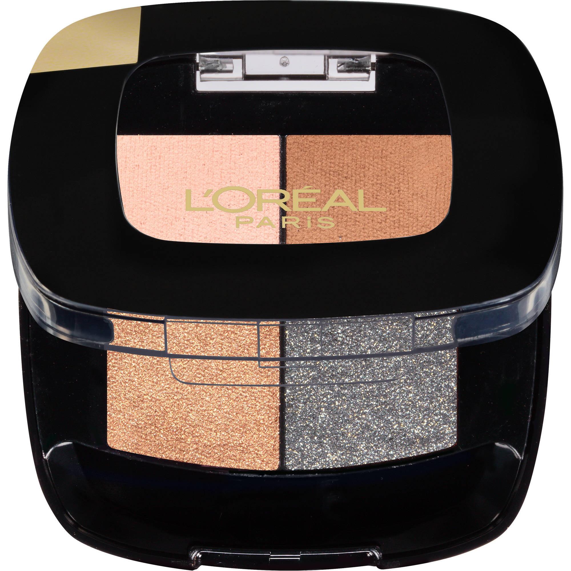 L'Oreal Paris Colour Riche Pocket Palette Eye Shadow, French Biscuit, 0.1 Oz