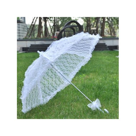 Topumt Lace Embroidered Craft Western Umbrella Decor Bridal Parasol Wedding Party Decor](Western Craft)