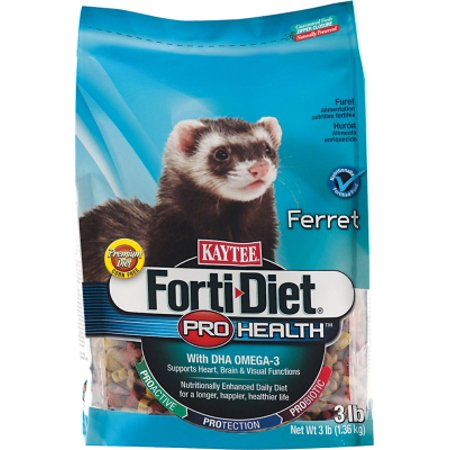 Central   Kaytee Products  Inc Ferret Forti Diet Pro Health 3 Lb