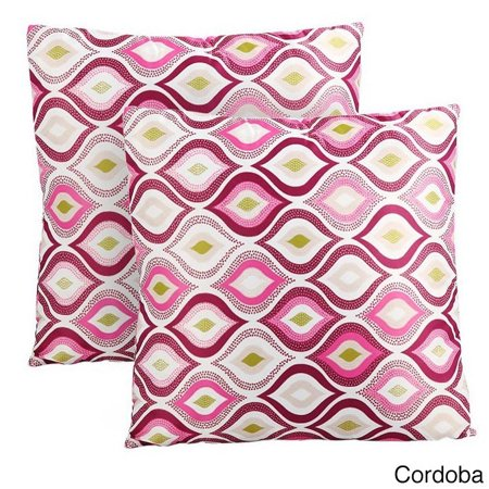 Kardiel Modern Multicolor Cotton 40inch Square Decorative Accent Awesome Multicolored Decorative Pillows