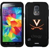 University of Virginia Swords Orange Design on OtterBox Commuter Series Case for Samsung Galaxy S5