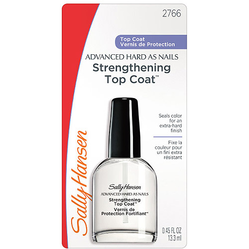 Sally Hansen Advanced Hard As Nails Strengthening Topcoat, 0.45 fl oz