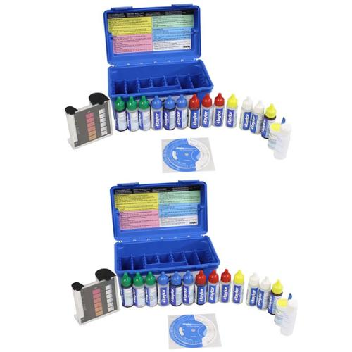 2) TAYLOR K-2006 Complete Swimming Pool/Test Test Kit FAS-DPD Maintenance