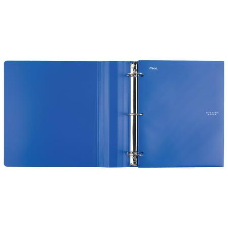 Five Star 4-Pocket Plastic Folder - Folders - Plastic Folders