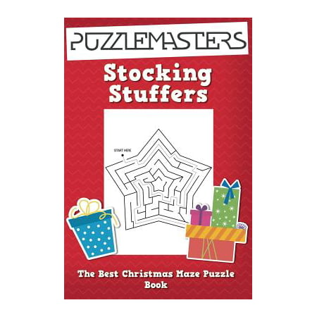 Stocking Stuffers the Best Christmas Maze Puzzle Book : A Collection of 25 Christmas Themed Maze Puzzles; Great for Kids Ages 4 and - Stocking Stuffers Men