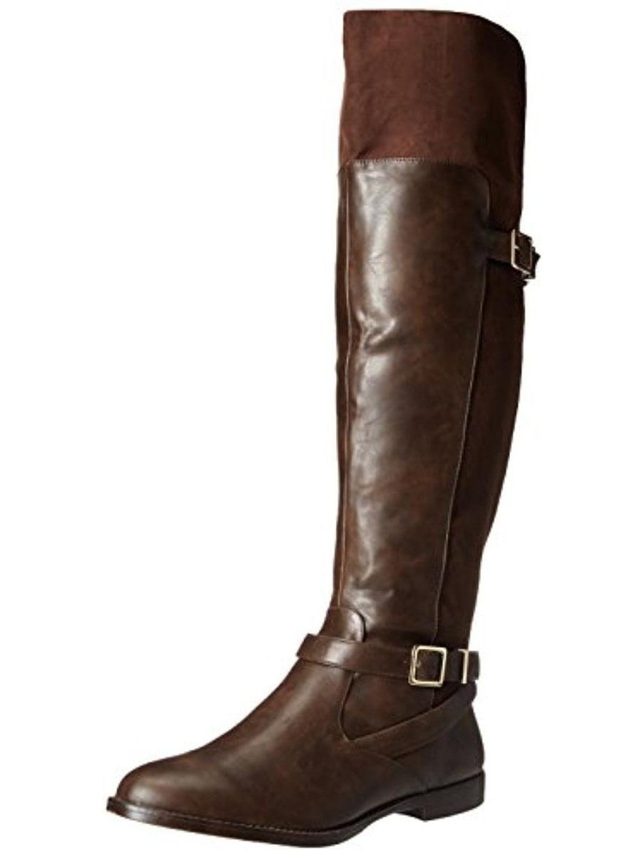 Bella Vita Womens Romy II Faux Leather Riding Boots