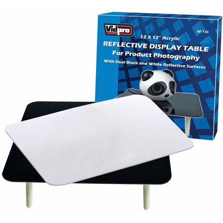 Product Photography Table - Vidpro RF-T30 Reflective Display Table for Product Photography