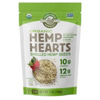 Manitoba Harvest Organic Hemp Heart Seeds, 7.0 Oz, 6 Servings