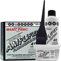 Manic Panic Amplified Flash Lighthing 40 Volume Bleach Cream Developer Kit