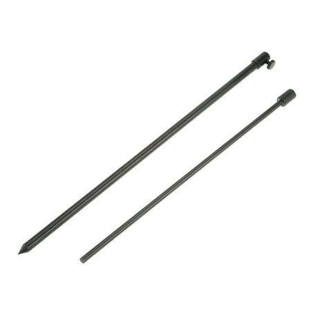 48-75cm Extending Aluminum Alloy Fishing Bankstick Adjustable Carp Fishing Bank Stick Fishing Rod Pod Rest for Bite