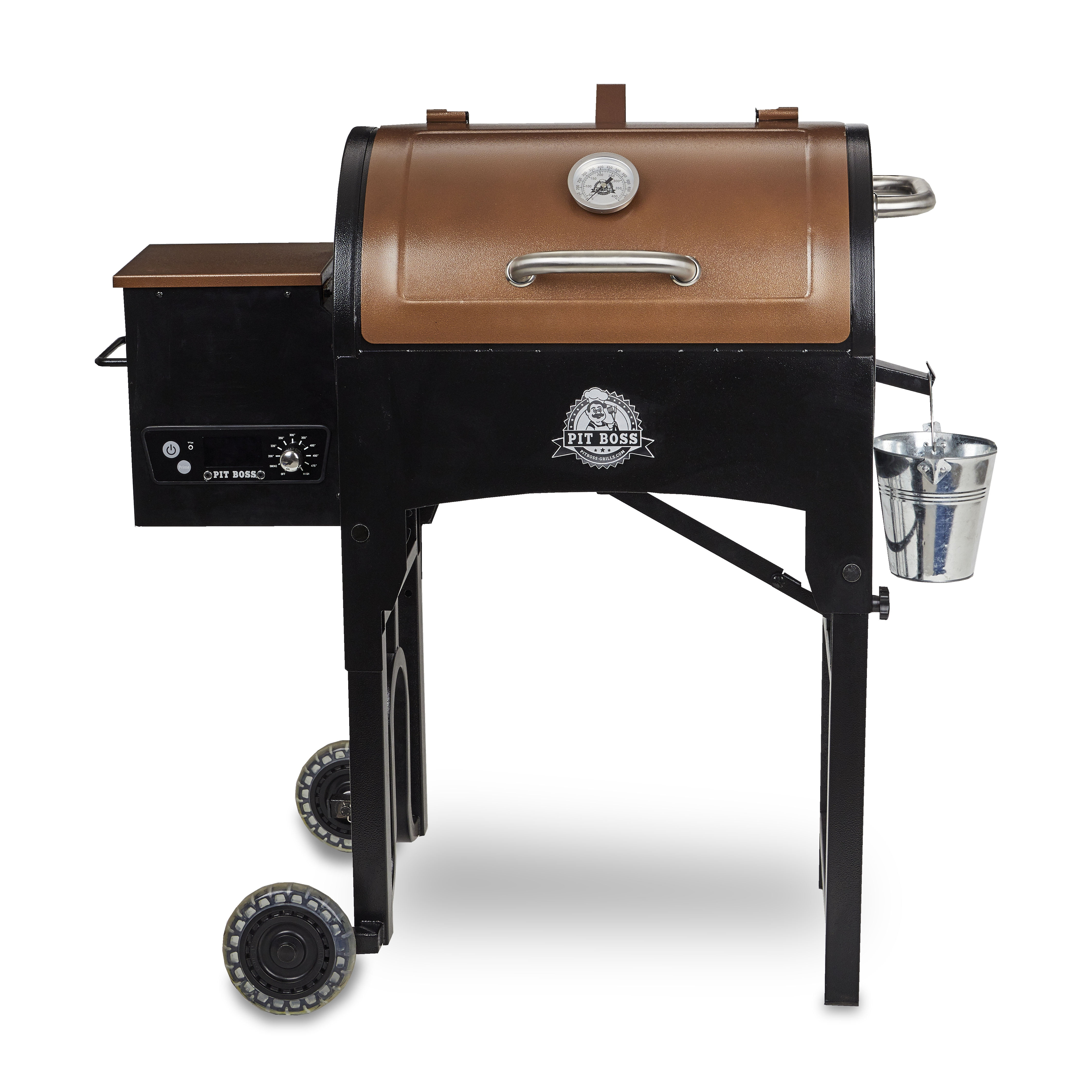 Pit Boss 340 sq. in. Portable Tailgate Camp Pellet Grill w  Folding Legs by DANSONS INC