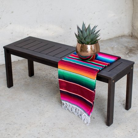 Coral Coast Milany Outdoor Wood Dining Bench ()