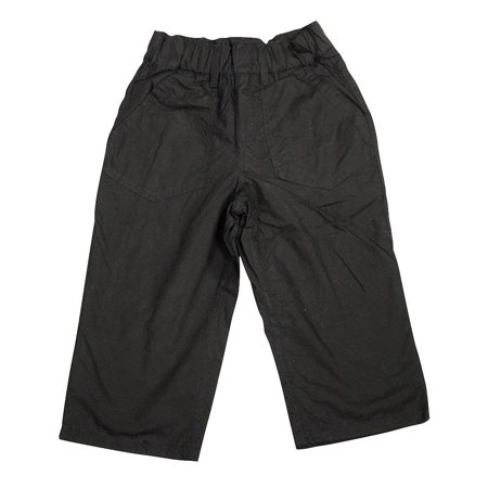 Mish Mish Baby Infant Boys Fashion Pants SZ 6M - 24M, 34532 Black Sheeting / (Infant Karate Pant)