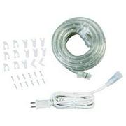 LUMAPRO 30F514 LED Rope Light, 5000K, 18 Ft, 120V