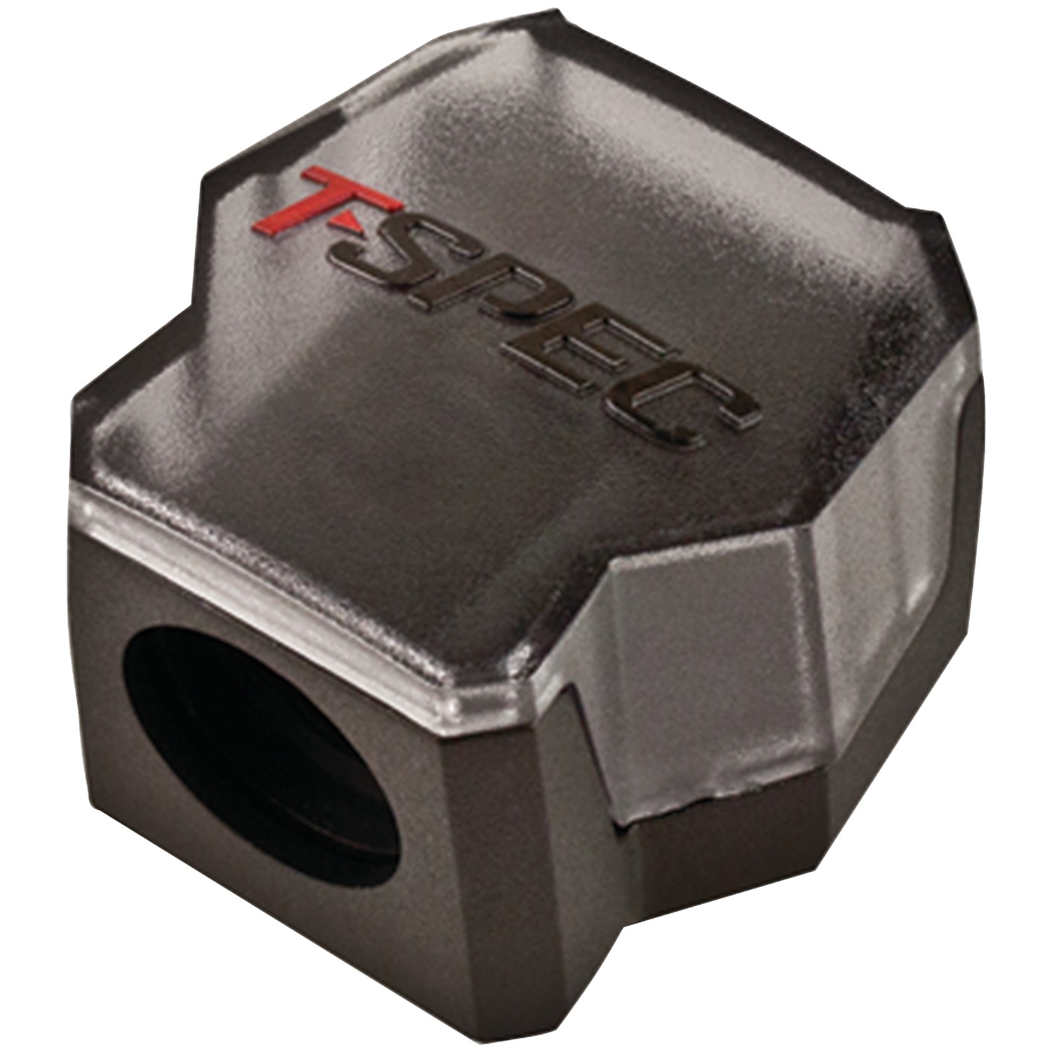 T>spec V12DB-1124 V12 Series 1/0-gauge In/two 4/8-gauge Out Compact Block Distribution