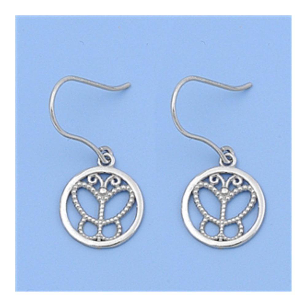 925 Sterling Silver Italian Earrings