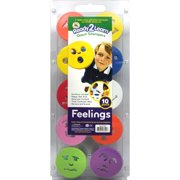 Center Enterprises Inc Ready 2 learn Giant Feelings Stamps  (Set of 10)