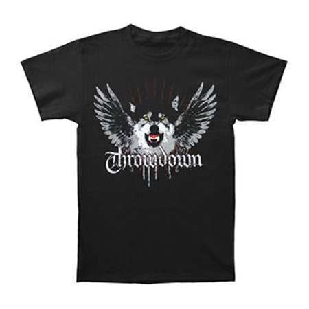 Throwdown men 39 s wolf t shirt black for Amazon review wolf shirt