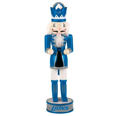Kids Nutcracker - Forever Collectibles - Holiday Nutcracker V2, Detroit Lions