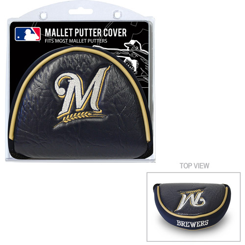 Team Golf MLB Milwaukee Brewers Golf Mallet Putter Cover by Generic
