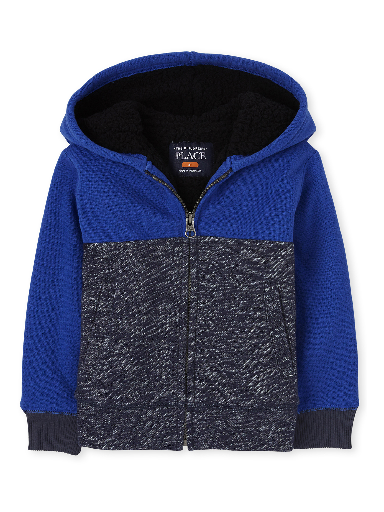 The Childrens Place Baby Boys Sherpa Hoodies