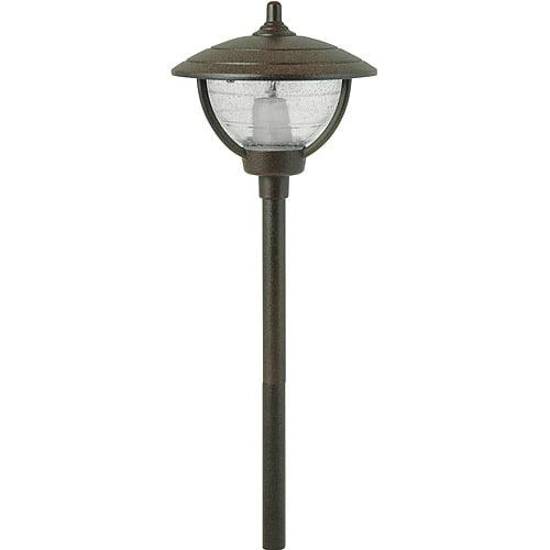 Moonrays 95816 Auburn-Style Low Voltage 10-Watt 12-Volt Metal Path Light, Rubbed Bronze Finish