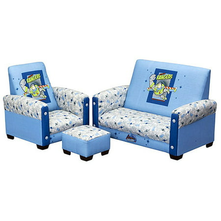 Sensational Disney Toy Story Toddler Sofa Chair And Ottoman Set Creativecarmelina Interior Chair Design Creativecarmelinacom
