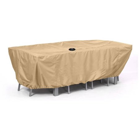 Large patio furniture cover camel walmartcom for Outdoor furniture covers at walmart