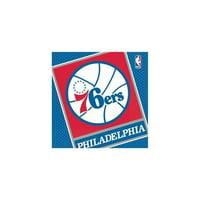 Partypro 513605 Philadelphia 76Ers Luncheon Napkin