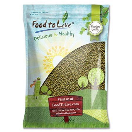 Mung Beans, 10 Pounds - Kosher, Raw, Sproutable, Vegan - by Food to Live