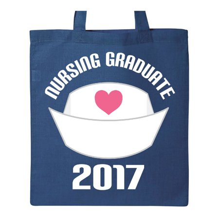 2017 Nursing Graduate Nurse Graduation Gift Tote Bag Royal Blue One - Nurse Tote