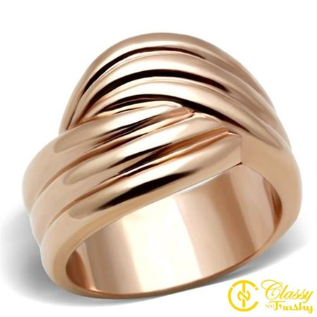 Classy Not Trashy® Size 6 IP Rose Gold PVD Plated Women