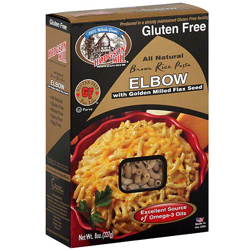 Hodgson Mill Brown Rice Elbow Pasta, 8 oz (Pack of 12)